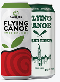 Saunders Cider Cans